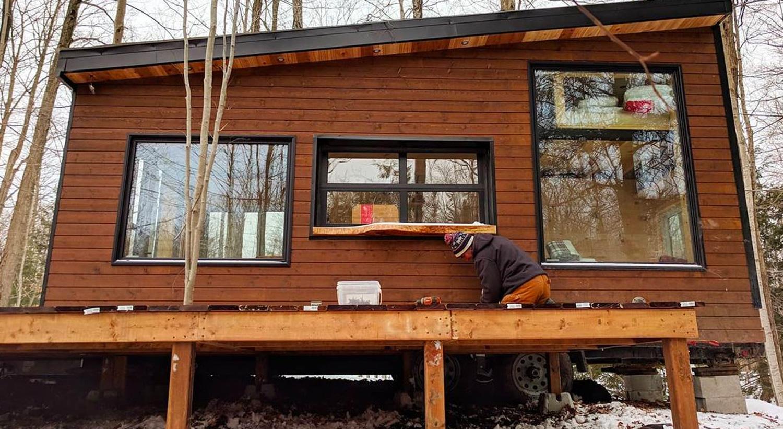 Cabin Construction Crew
