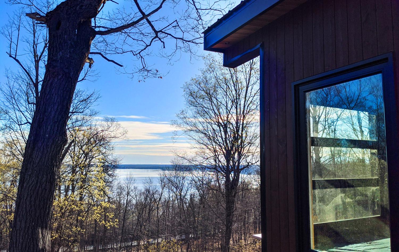 Finch Cabin Side View